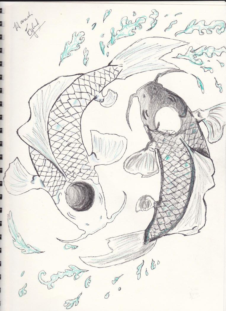 Koi fish yin and yang by infinitemango on deviantart for Yin and yang koi fish