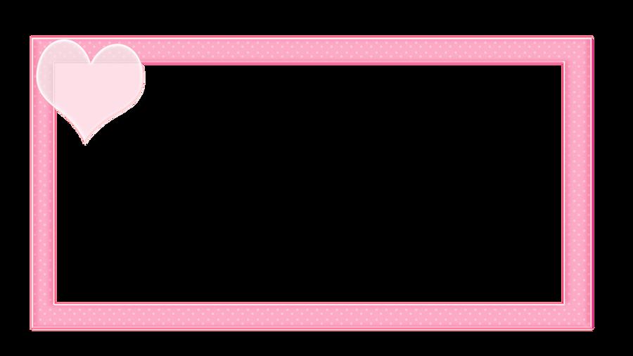 svps pink heart border by maiichu on deviantart