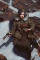 Woman Warrior by SuperPLLC