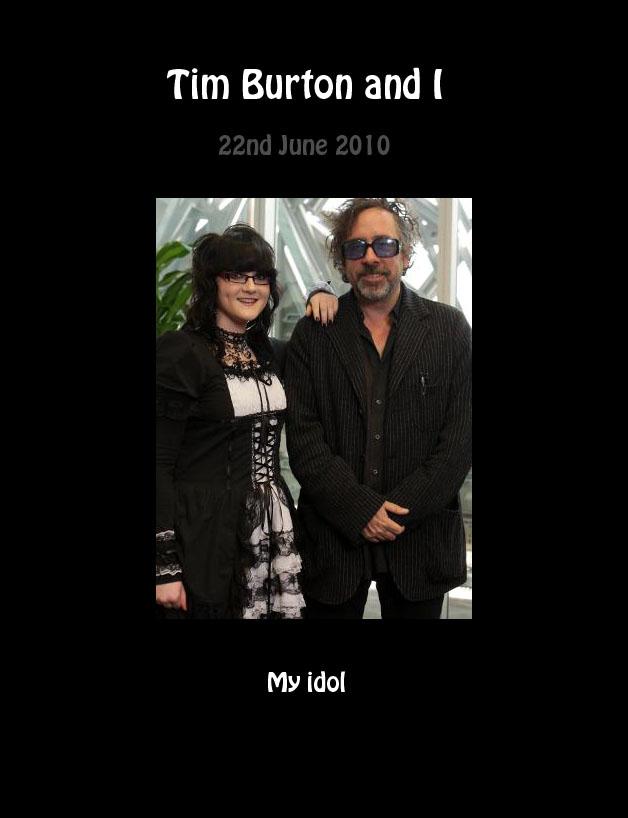 Tim Burton and I by Sarah-Vafidis