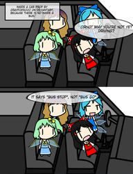 Why there are no buses in Gensokyo by Nagae--Iku