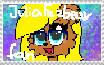 Julia Fazbear Fan Stamp by JuliaWidel