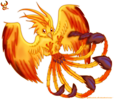 Phoenix Chibi by iPhenixia