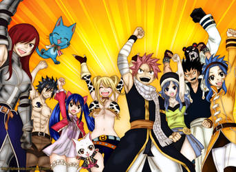 Fairy Tail (chapter 435) by iPhenixia