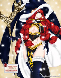 Eileen Belserion (Fairy Tail, chapter 483) by iPhenixia