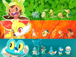 All Starters in Pokemon! by PokemonXandYbrave