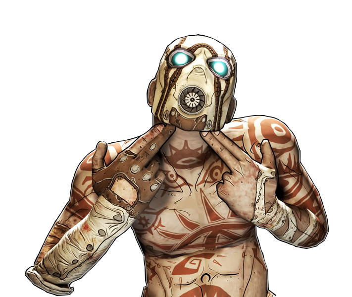 Psycho ( Bandit Borderlands 2 ) Minecraft Skin