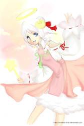 Trickster angel sheep by SweetieMoon