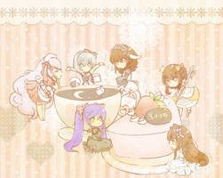 Royal Milk Tea Party by SweetieMoon