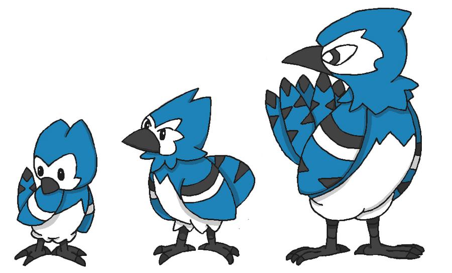 Blue Jay Pokemon