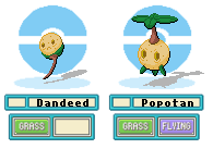 Fakemon- Dandelion Sprites by Casey333