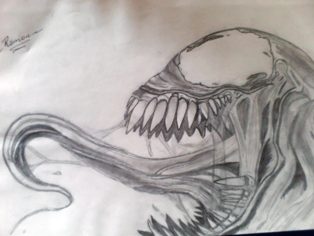 Venom Drawing by Metalnoob on DeviantArt