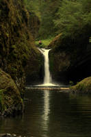 Punchbowl Falls, Oregon by xsiorcanna