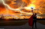 Thora, the Goddess of Thunder by Hamulas