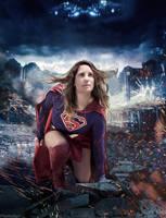 Supergirl Cosplay Season Finale by Hamulas