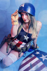 Pin-Up Captain America