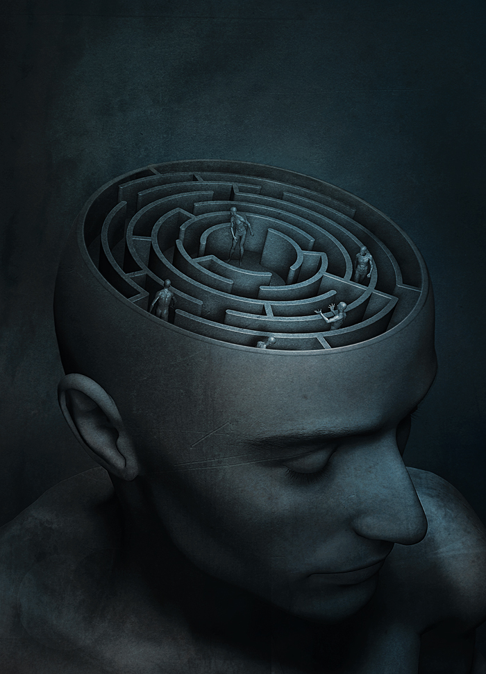 The Maze by Sagim