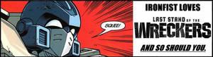 Wreckers banner- Ironfist