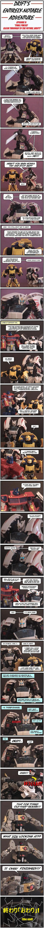 Drift's Notable Adventure- P9 by MikePriest83