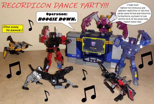 Recordicon Dance Party
