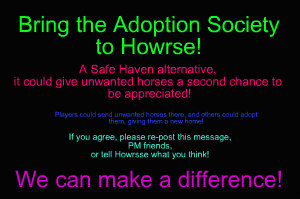 Please Re-Post if you are on Howrse!! by HBMB101