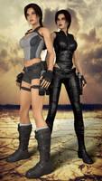 Lara Croft and Lillian
