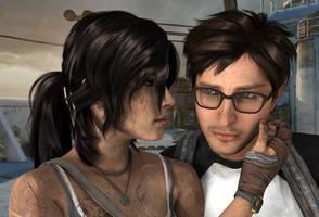 Lara and Alex by AlexCroft25