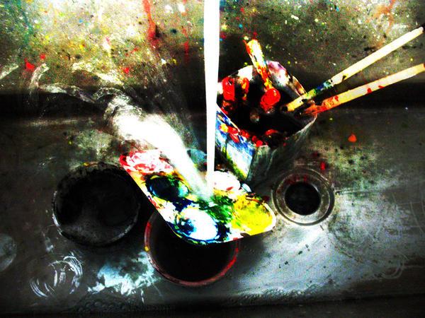Art Room Sink By Dewyeyed ...