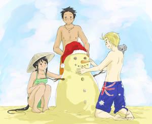 A Merry, Sunny Christmas