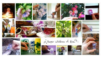 Paper Children of Alva by number11train