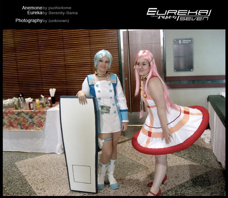 Eureka Seven Anemone Cosplay Eureka Seven Cosplay by