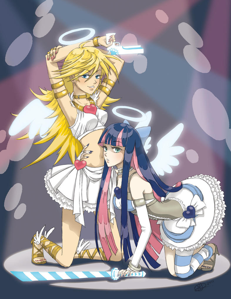 Panty and Stocking - Angel Mode by Heathernaut