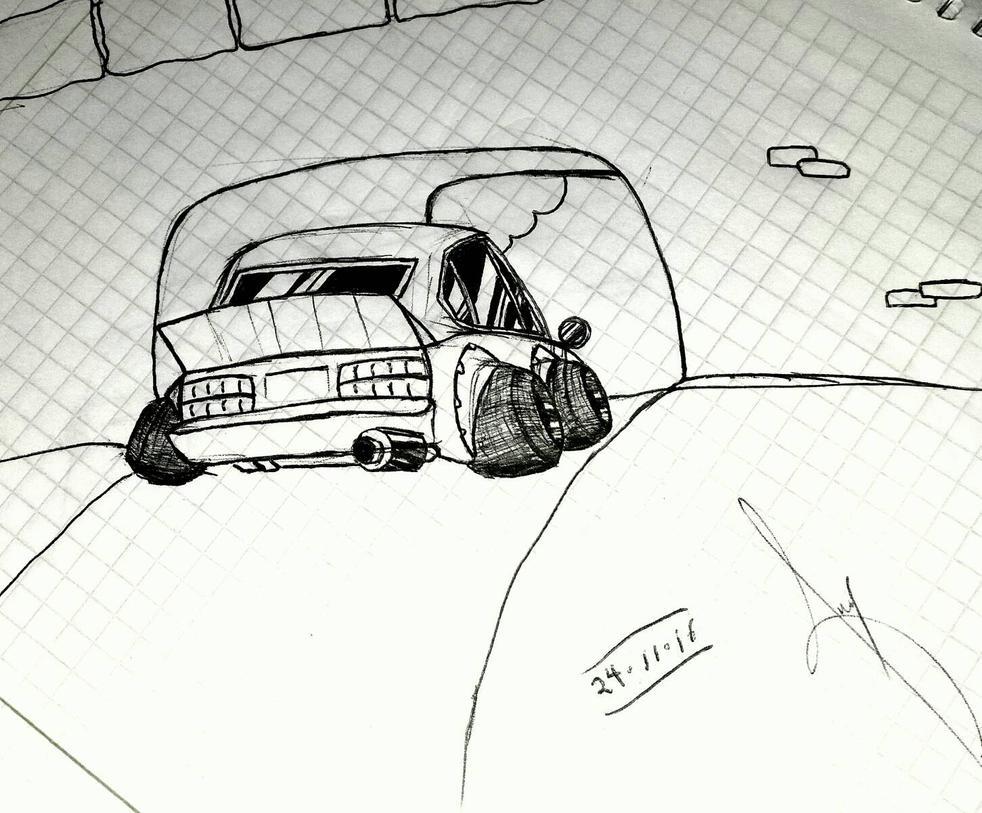 one car by im-anibal