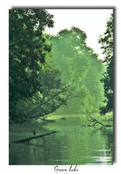 Green Lake by Unicorne