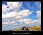 Go to the Mont Saint Michel
