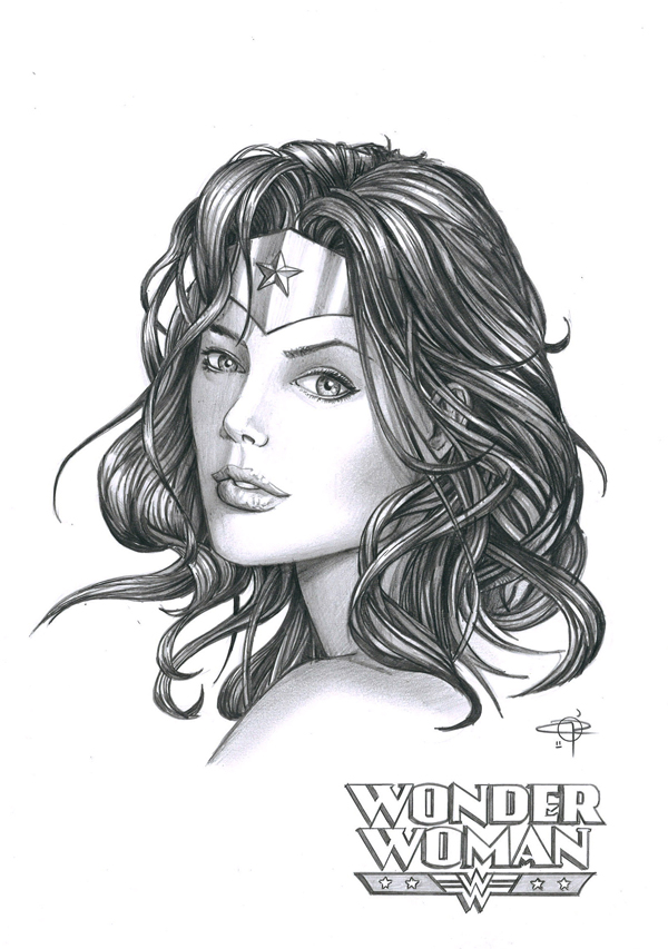 Wonder Woman Commission by Carl-Riley-Art