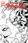 Avenging Spider-Man Sketch Cover (02)