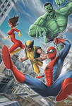 Spidey/ Marvel Pinup - Version 2.0