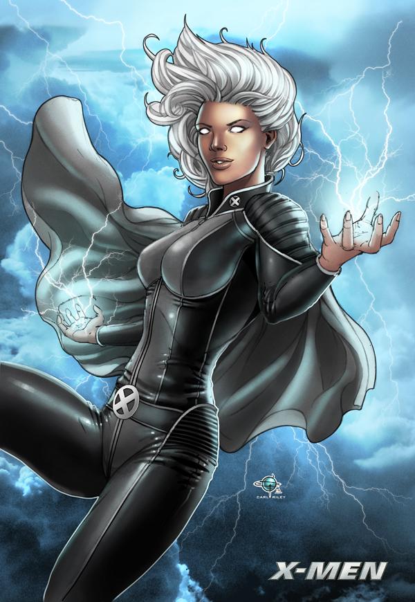Storm Xmen Commission by Carl-Riley-Art