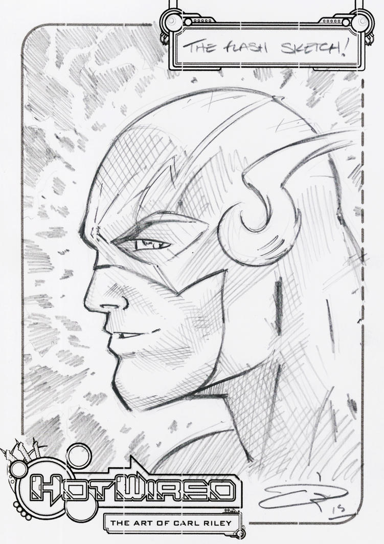 FREE Flash Sketch 2015 by Carl-Riley-Art