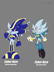 My Concept of Cyber Nazo by MarioLuigi89