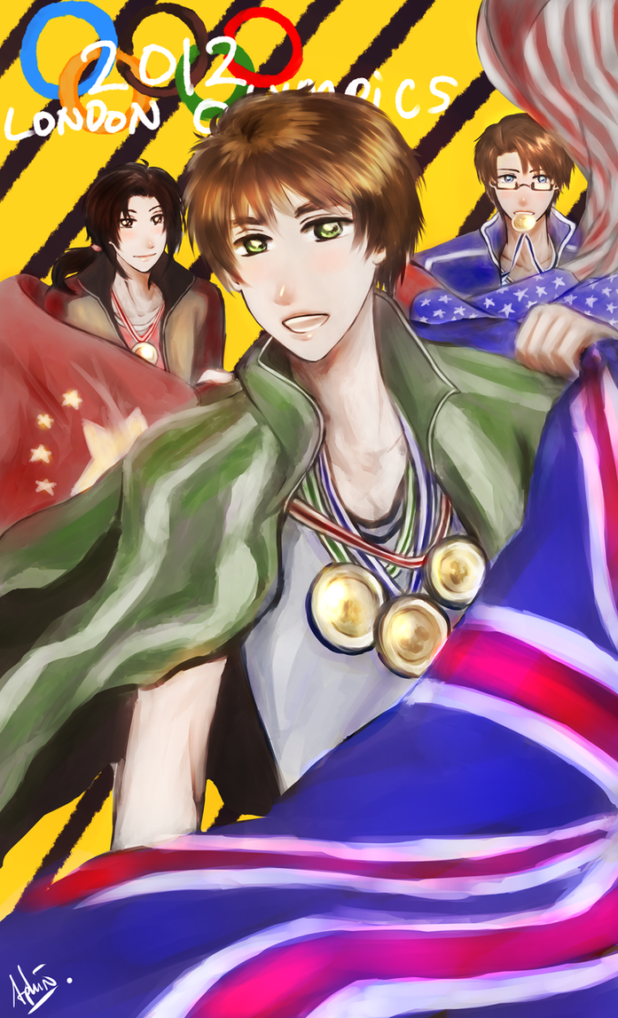 APH -- 2012 London Olympics ( CONTEST ) by aphin123