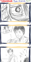 APH -- Spamano -- Let's Take A Picture !! by aphin123