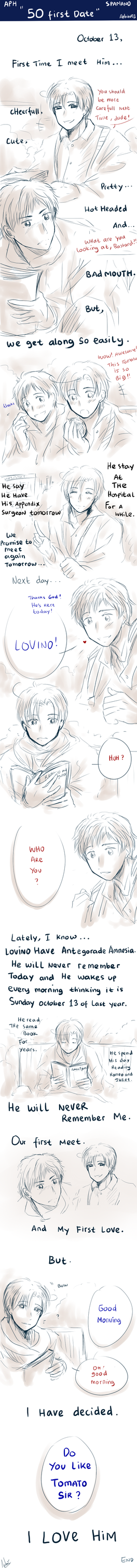 APH -- Spamano -- 50 First Dates by aphin123