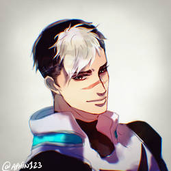 Commission 10 : Shiro- Voltron