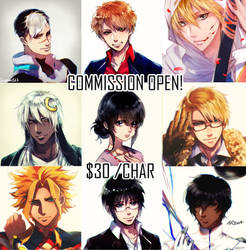 Commission OPEN [ Batch 2 ]