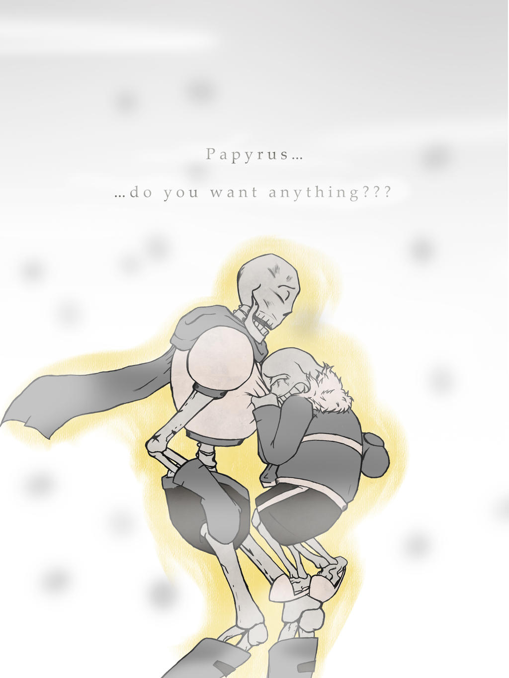 Papyrus do you want anything by white king2332 on deviantart
