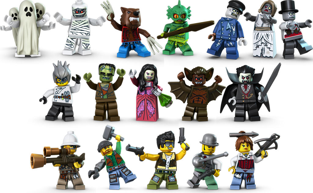 lego monster fighters characters by frankrock5235 - Lego Monstre