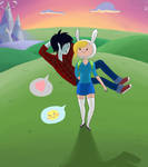 Sunset Time with Fiona and Marshall Lee