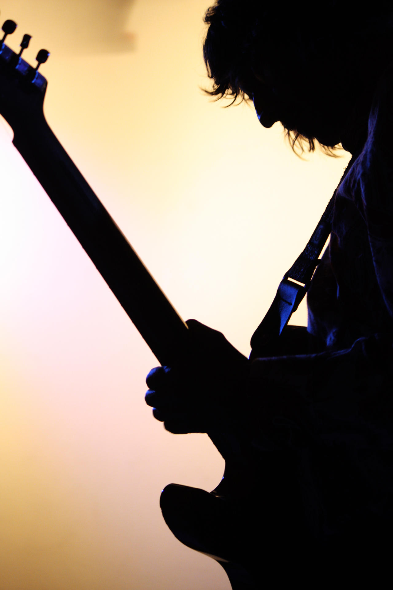 Guitarist Silhouette 1 by eden-daintree on DeviantArt